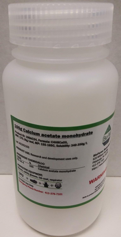 100g Calcium acetate hydrate