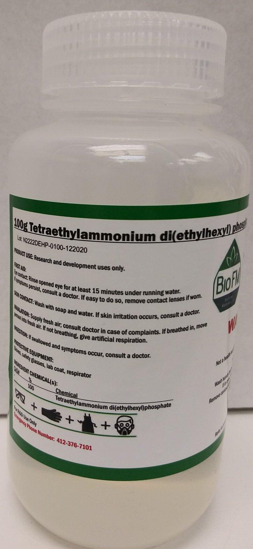 100g Tetraethylammonium di(2-ethylhexyl)phosphate ([N2222][DEHP])
