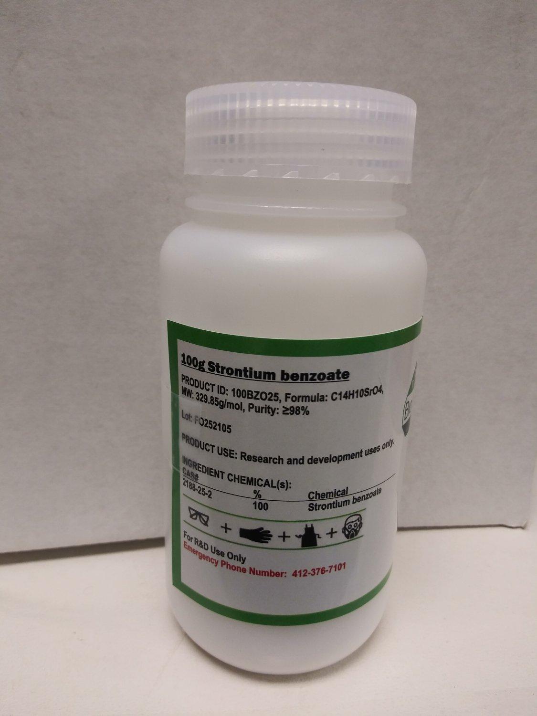 100g Strontium benzoate
