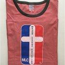 Major League Christian Pigment Dyed Ringer T-shirt XL