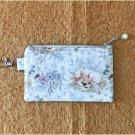 Woodland Baby Girl Deer Fabric Zipper Pouch Handmade