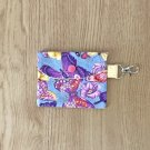 Butterfly Collage Butterflies Fashion Fabric Mini Card Wallet Handmade