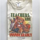 Favorite Teachers are Caring Education Unisex T-Shirt XL