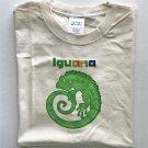 Green Iguana Lizard Short sleeve Cotton Unisex T-Shirt XL