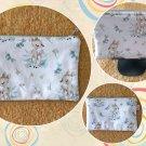 Woodland Baby Girl Deer Fawn Fabric Zipper Pouch Handmade