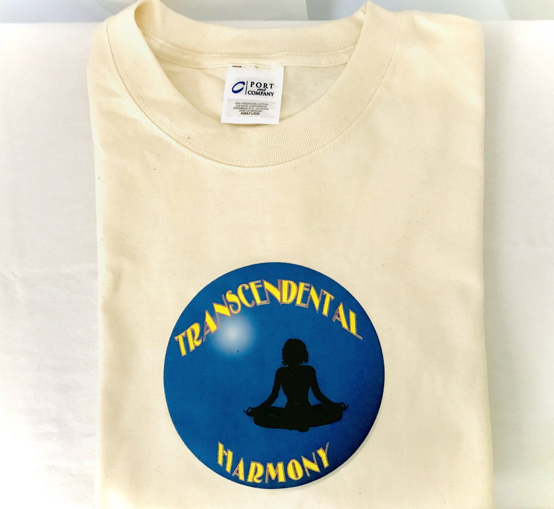 Yoga Transcendental Harmony Lotus Pose T-shirt Large