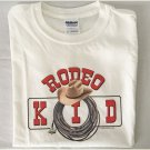 Rodeo Kid Lasso Cotton Youth T-shirt Medium