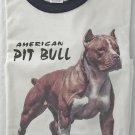 American Pit Bull Dog Pet Ringer T-shirt XL