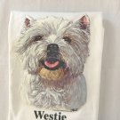 Westie West Highland Terrier Dog Pet Ringer T-shirt XL