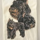 Bouvier Des Flandres Dog Long Sleeve Cotton Unisex T-shirt Large