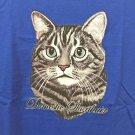 Domestic Short hair Cat Cotton Youth T-shirt Medium