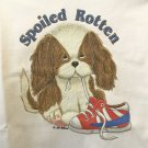 Spoiled Rotten Puppy Dog Cotton Youth T-shirt Small