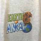 Earth Angel Dachshund dog Youth Hooded Sweatshirt Large