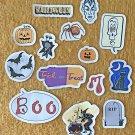 Halloween Trick or Treat Sticker Set 14 Mini Stickers