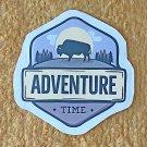 Recreation Outdoor Adventure Time Sticker