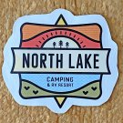 Recreation Outdoor North Lake Camping and RV Sticker