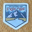 Recreation Outdoor Explore Outside Sticker