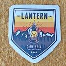 Recreation Outdoor Lantern Camping Sticker