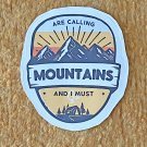 Recreation Outdoor Must Go To Mountains Sticker