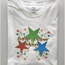 Super Duper Mom Word Art T-Shirt Large