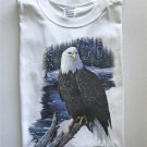 American Bald Eagle Bird Cotton T-Shirt 2XL