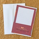Happy Thanksgiving Turkey Notecards with envelopes Set of 5