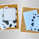 Cow Spots Notecards with envelopes Set of 6