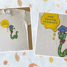 First Day of School Bookworm Cotton Youth T-shirt Small