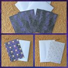 Sun Moon and Stars Notecards with envelopes Set of 6