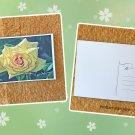 Yellow Rose Flower Postcard