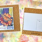 Orange Passion Butterfly Postcard