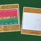 Summer Watermelon Fruit Postcard