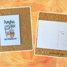 Pumpkin Spice and Everything Nice Fall Season Printed Greeting Postcard