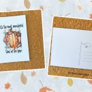Most Wonderful Time Of The Year Fall Holiday Season Printed Greeting Postcard