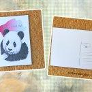 Giant Panda Give Me A Bear Hug Printed Message Postcard