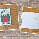 Camping Is My Happy Place Printed Postcard