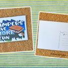 Campers Have Smore Fun Printed Camping Postcard