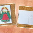 Camp Is My Happy Place Printed Camping Postcard