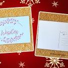 Best Wishes Christmas Holiday Season Printed Greeting Postcard