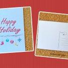 Happy Holiday Christmas Season Printed Greeting Postcard