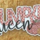 Pumpkin Queen Thanksgiving Holiday Sticker