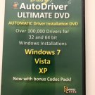 Auto Installation Drivers, DVD For Windows 7, Vita and XP Ship to USA Only