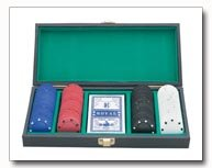 Maxam 120 Poker Chip Set with a Deck of Cards