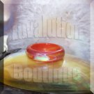 Red Agate Mood Ring Band Size 5 Color Changing Genuine Gemstone Jewelry Gift Box