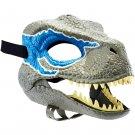 Jurassic World Dino Rivals Velociraptor Blue Dinosaur Mask #GVC81 by Mattel