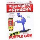 Mcfarlane Five Nights at Freddy FNaF Purple Guy 8-Bit Buildable Figure Series 1 Set