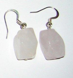 Rose Quarts medium earrings