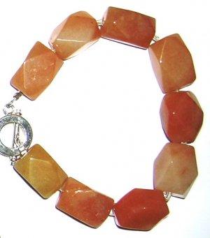 Peach Aventurrin Bracelet