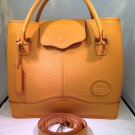 Laura Argentina Leather Handbag - Yellow/Butter