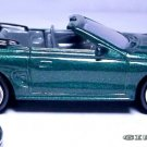 RARE KEY CHAIN RING GREEN 94~98 FORD MUSTANG GT CONVERTIBLE NEW LIMITED EDITION